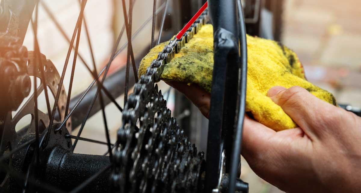 Polkupyörän keväthuolto