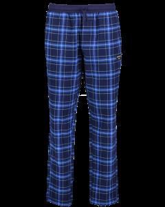 Miesten ruudulliset pyjamahousut siniset