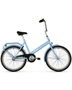 """Tempo polkupyörä 24"""" sininen"""