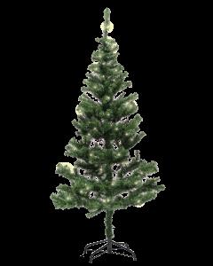 Joulukuusi 180cm vihreä valoilla