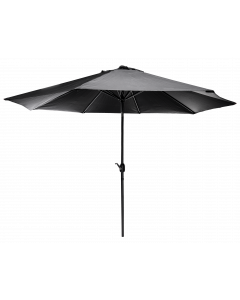 Päivänvarjo 3 m kallistettava musta