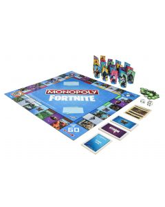 Monopoly Fortnite peli