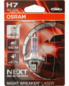 Night Breaker Laser H7 12V 55W