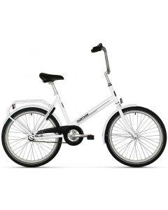 """Tempo polkupyörä 24"""" valkoinen"""