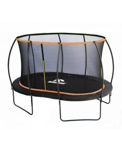 Blackline  Oval 3,66 x 2,4M trampoliini ja turvaverkko