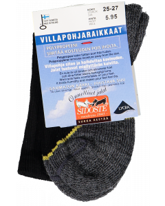 Sidoste lasten Villapohjaraikkaat sukat