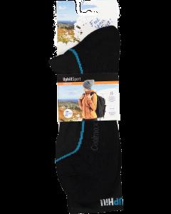 Uphill Sport miesten coolmax merinovillapohja sukka.