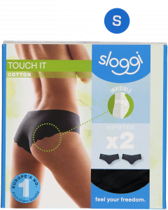 Sloggi Touch It Cotton Hipster alushousut 2 kpl