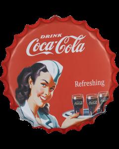 Metallitaulu Coca-Cola
