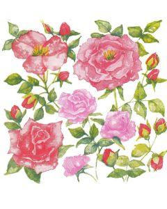 Havi lautasliina Ruusut 20kpl/pkt