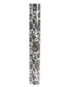 Poikkiliina 0,4x4,8 musta Elegant