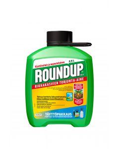 Roundup Quick rikkakasvien torjunta-aine täyttö 2,5L