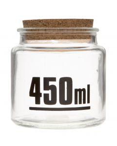 Lasipurkki 450ml