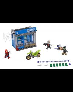 76082 Spider - Man Pankkiautomaattiryöstötaistelu
