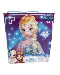 Frozen palapeli 4 kpl