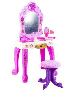 Prinsessa peilipöytä ja tarvikkeet