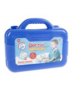 Lääkärinlaukku + tarvikkeet