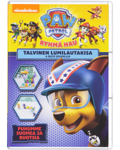 Paw Patrol talvinen lumilautakisa & muita seikkailuja dvd-elokuva