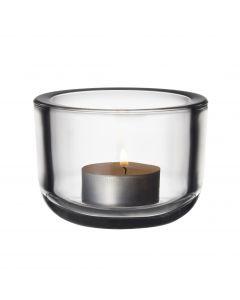 Valkea kynttilälyhty 60 mm kirkas