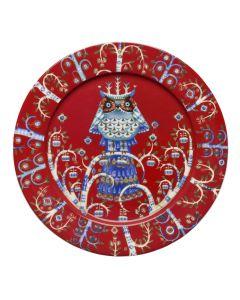 Taika lautanen 27cm punainen