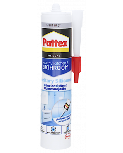 Pattex Saniteettisilkoni vaaleanharmaa  280 ml