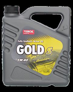 Teboil Gold S SAE 5W-40 4 l