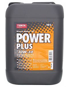 Teboil Power Plus SAE 10W-30 10 l