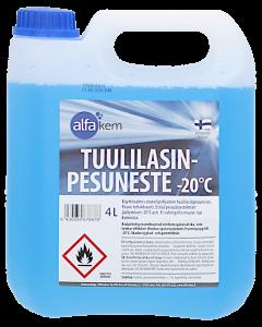 Tuulilasinpesuneste -20C 4 L