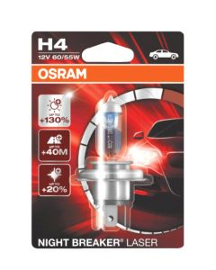 Osram Night Breaker Laser H4 12V 55/60W