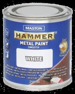 Maston Hammer metallimaali valkoinen 250 ml