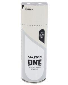 Maston One spraymaali kermanvalkea RAL9001 400 ml