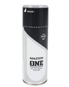 Maston One spraymaali musta RAL9005 400 ml