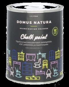 Domus Natura kalkkimaali firestone black 1l
