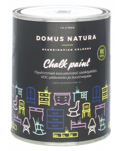 Domus Natura kalkkimaali blue mussel 1l