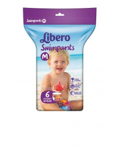 Libero Swimpants uimavaippa koko medium, 10-16 kg