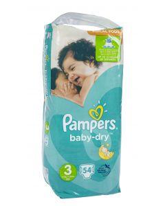 Pampers Baby Dry S3 5-9kg vaippa 54kpl