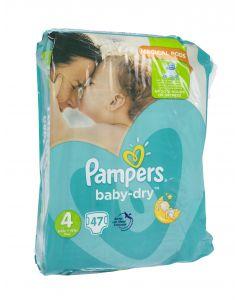 Pampers Baby Dry S4 8-16kg vaippa 47kpl