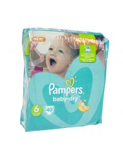 Pampers BabyDry S6 15+ kg vaippa 40 kpl