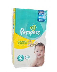 Pampers New Baby S2 3-6 kg 54 kpl teippivaippa