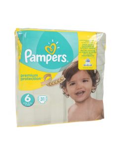 Pampers Premium Protection vaippa S6 15+ kg 31 kpl