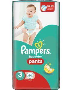 Pampers Baby Dry Pants S3 6-11kg housuvaippa 44kpl