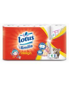 Lotus Emilia talouspyyhe Design 4rll