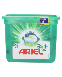 Ariel 24kpl 3in1 Pods White