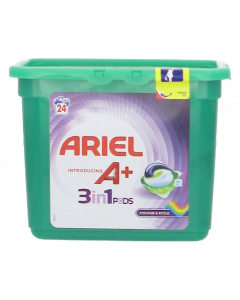 Ariel 24kpl 3in1 Pods Color