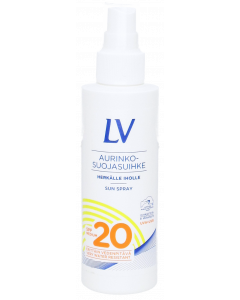 Lv Aurinkosuihke Spf20 150ml