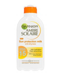 Ambre Solaire 200ml Sun Protection Milk aurinkosuojaemulsio SK15