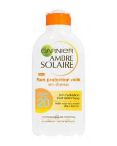 Ambre Solaire 200ml Sun Protection Milk aurinkosuojaemulsio SK20
