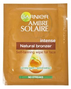 Ambre 5,6ml Natural Bronzer Wipes