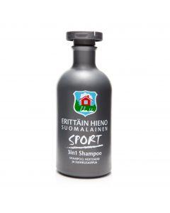 Erittäin Hieno Suomalainen 300ml Sport 3in1 shampoo