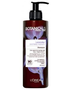 L'Oréal Paris Botanicals 400ml Lavender Soothing Therapy shampoo hennoille, hauraille hiuksille